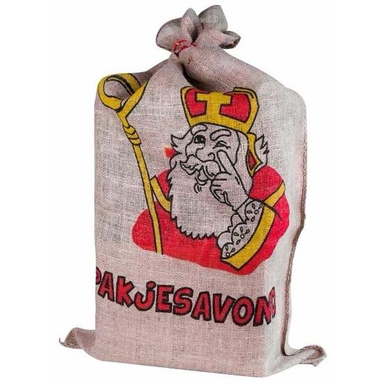 Sinterklaas jute zak 60 x 102 cm