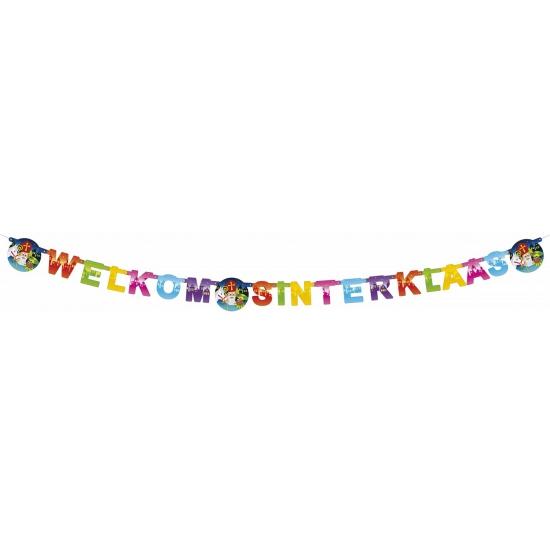 Sinterklaas thema letterslingers Multi