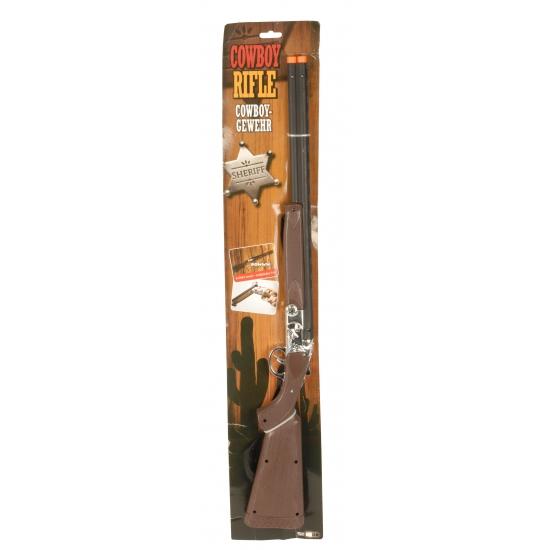 Speelgoed cowboy rifle geweer 77 cm