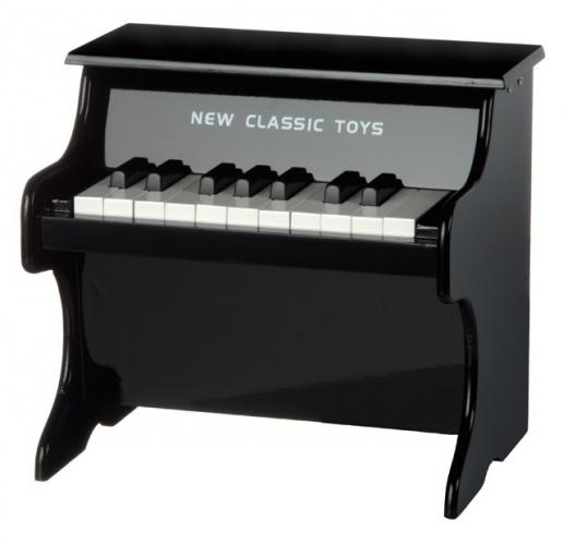 Speelgoed piano van hout met 18 tonen