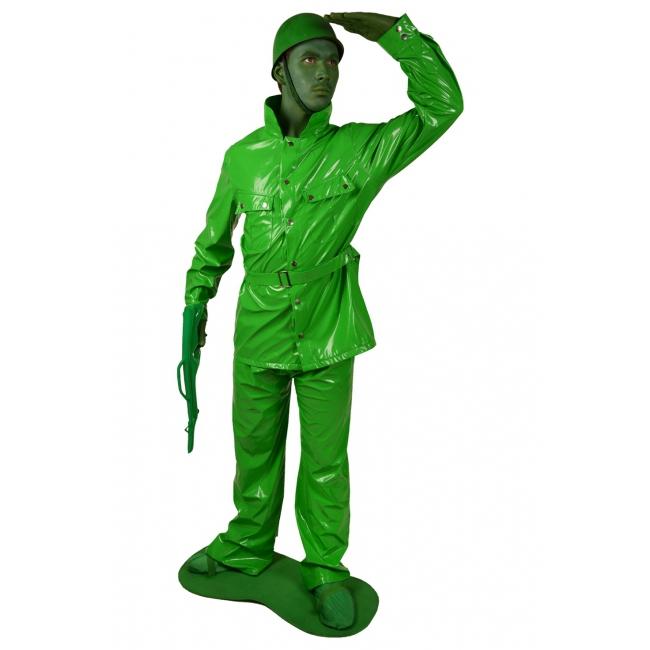 Speelgoed soldaat morphsuit kostuum XL Groen