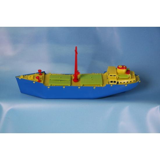 Speelgoed vrachtboot 51 cm