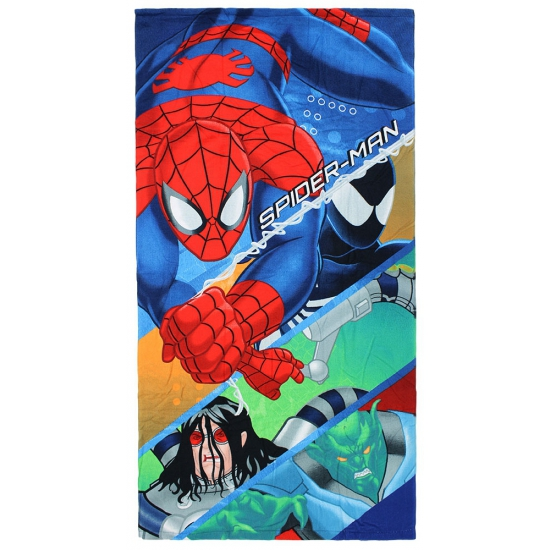 Spiderman strandlaken 70 x 140 cm