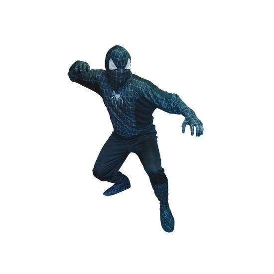Spinnenhelden kostuum zwart voor heren M/L (T-04) Zwart