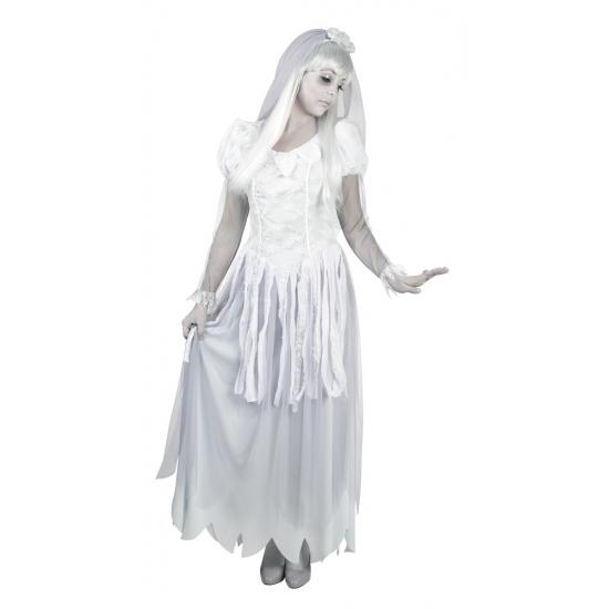 Spook bruid kostuums voor dames 40-42 (L/XL) Wit
