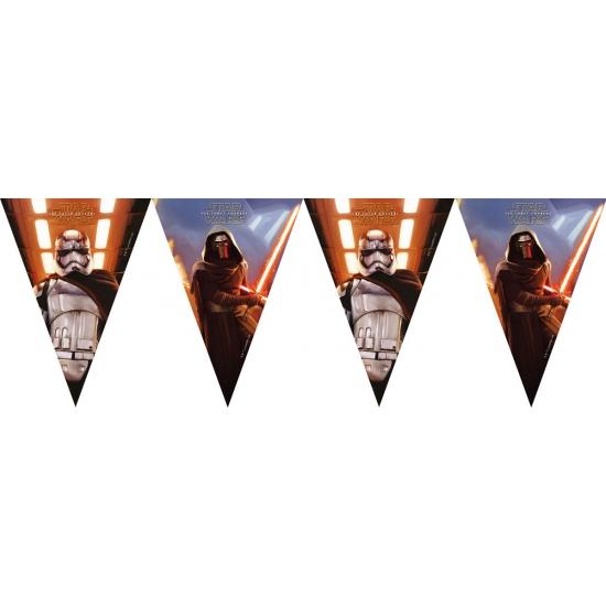 Star Wars vlaggenlijn slingers 2 meter Multi