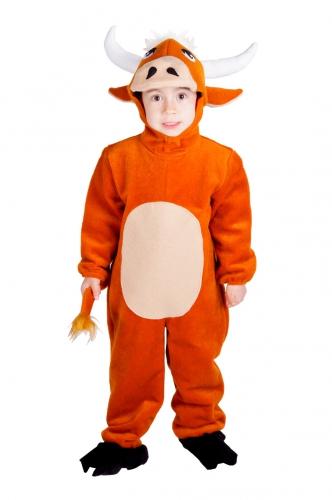 Stieren outfit voor kids 3-5 jaar Bruin