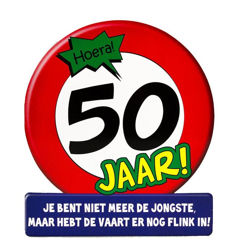 Wonderbaarlijk Verjaardagskaart/ansichtkaart 50 jaar voor jarige / 50e verjaardag DP-45