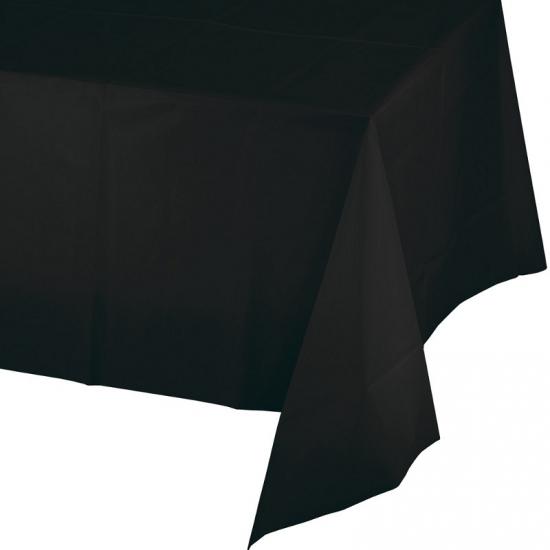 Tafelkleden zwart 274 x 137 cm Zwart