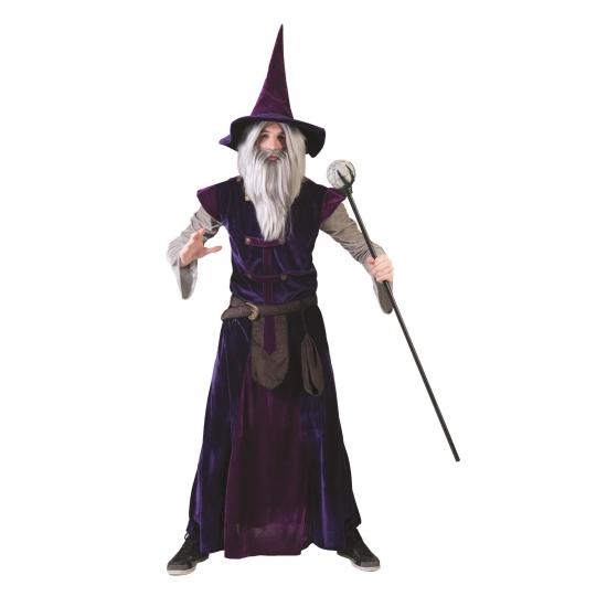 Tovenaars verkleedkleding inclusief hoed L Multi
