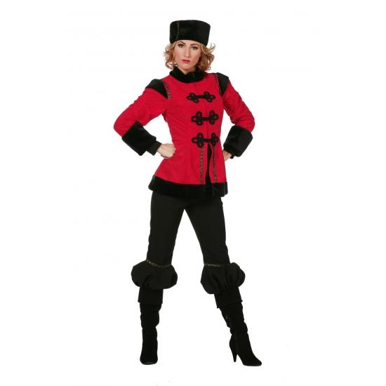 Traditioneel dames Kozak kostuum 42 (XL) Multi