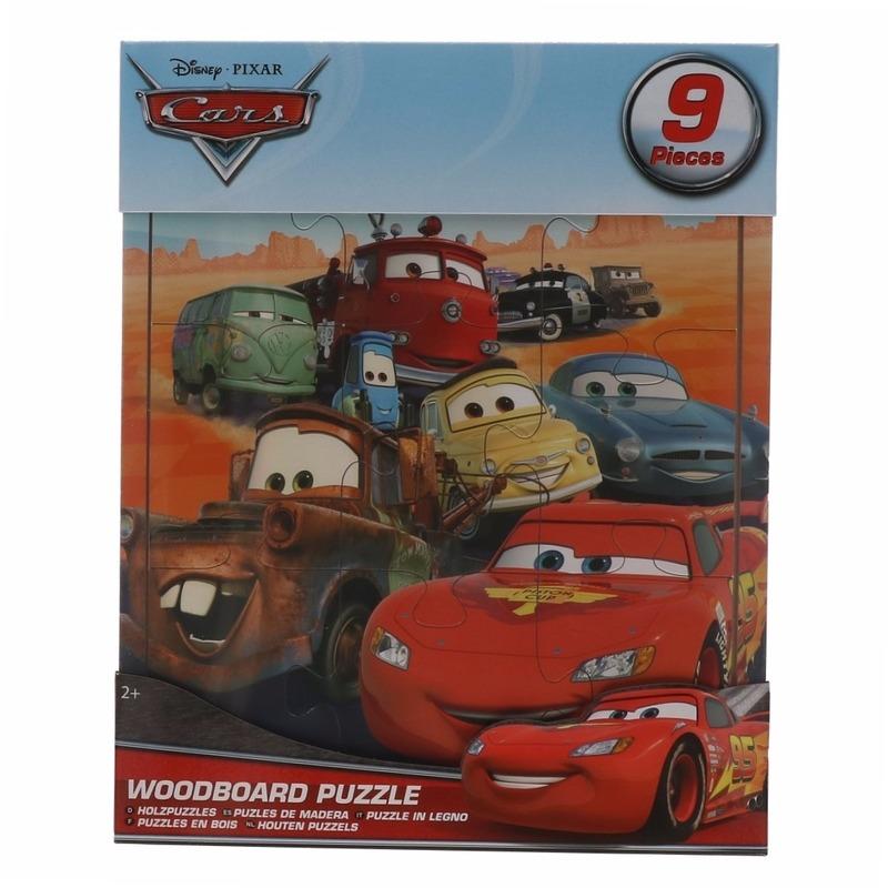 Traktatie speelgoed Cars puzzeltje | Fun en Feest