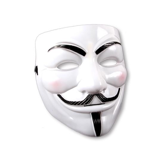 V for Vendetta masker Wit