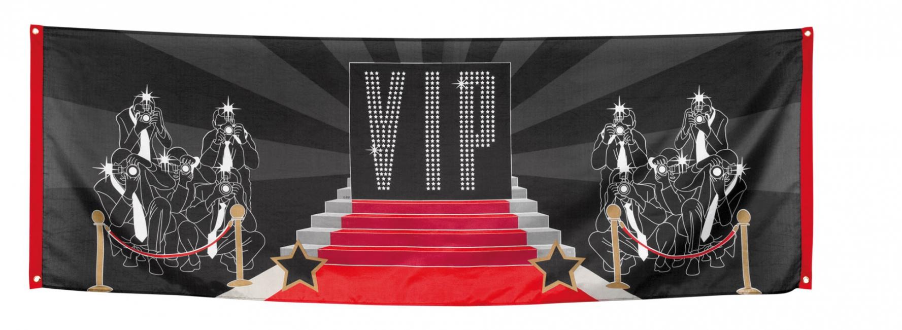 VIP spandoek 74 x 220 cm Multi