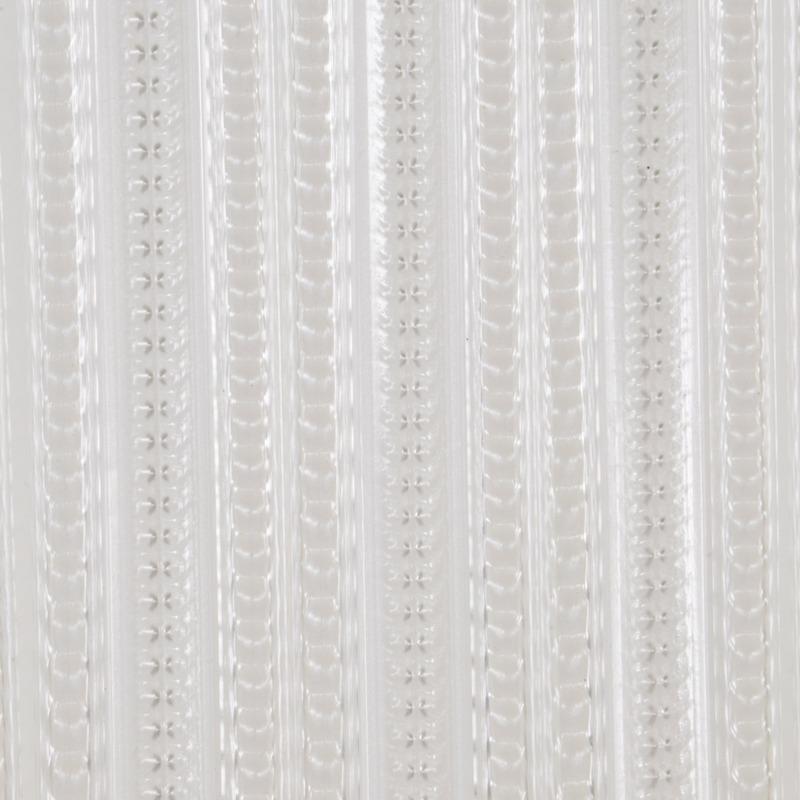 Wit anti insecten gordijn 90 x 220 cm kunststofplastic PVC