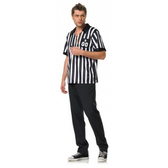 Voetbal scheidsrechter kostuum heren XL Multi
