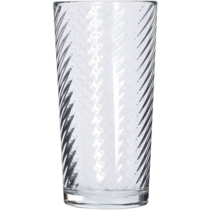 Water glazen 6x stuks 230 ml