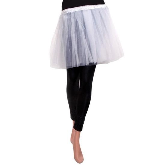 Wit meisjes verkleed rokje One size Wit
