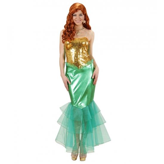 Zeemeermin kostuum voor dames 40 (L) Multi