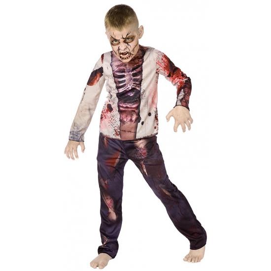 Zombie kostuum voor kinderen 146 Multi