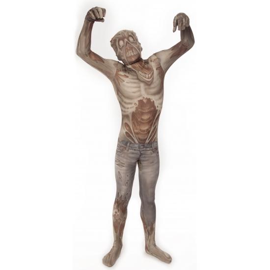 Zombie morphsuit voor kinderen 8-10 jaar (140) Multi
