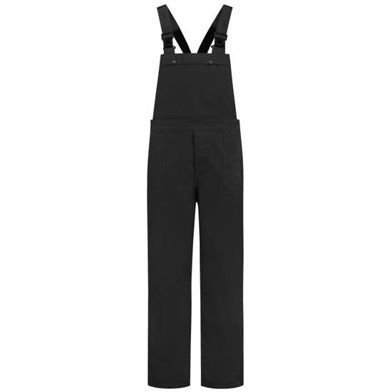 Zwarte tuinbroek voor dames en heren M (38/50) Zwart