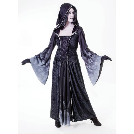 Zwarte zombie jurken M Zwart