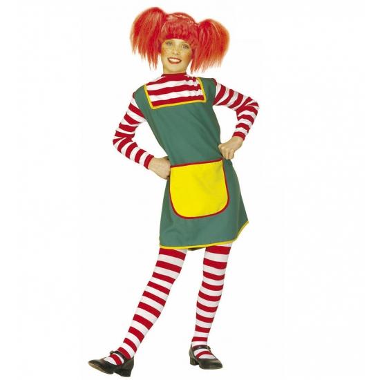 Zweeds sterk meisje kostuum 140 Multi