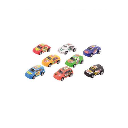 Race Speelgoed Auto Setje Van 8 Stuks Fun En Feest