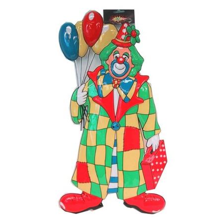 Clown Carnaval Decoratie Met Ballonnen 60 Cm Fun En Feest