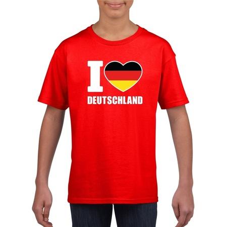 Deutschland i love Deutschland (English